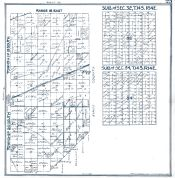 Sheet 025 - Townships 19 and 20 S., Range 18 E., Township 14 S., Range 14 E., Sec. 32 and 34, Fresno County 1923